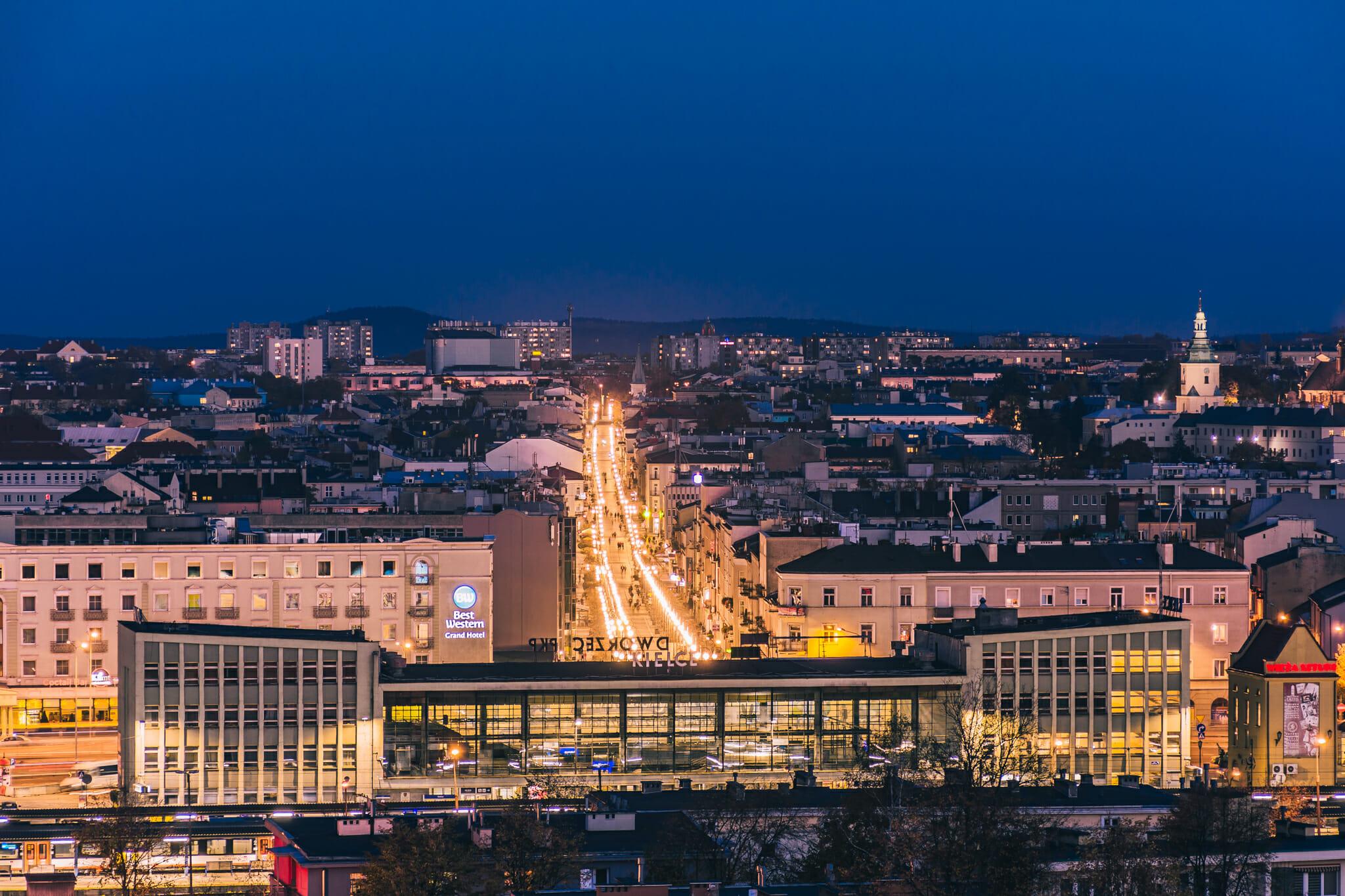 Budowa dworca pkp coraz blizej - w kielcach - www.wkielcach.info