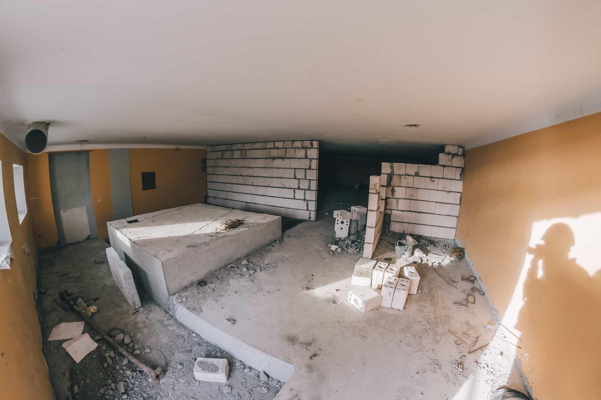 Budowa Nowej Przestrzeni Teatru Żeromskiego WDK-11