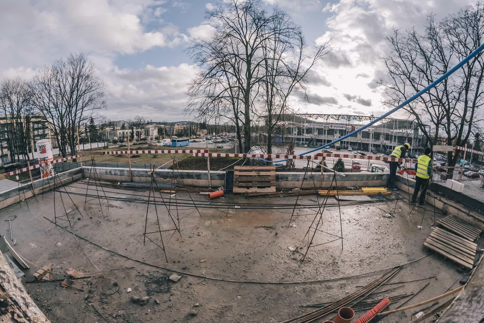 Budowa Nowej Przestrzeni Teatru Żeromskiego WDK-12