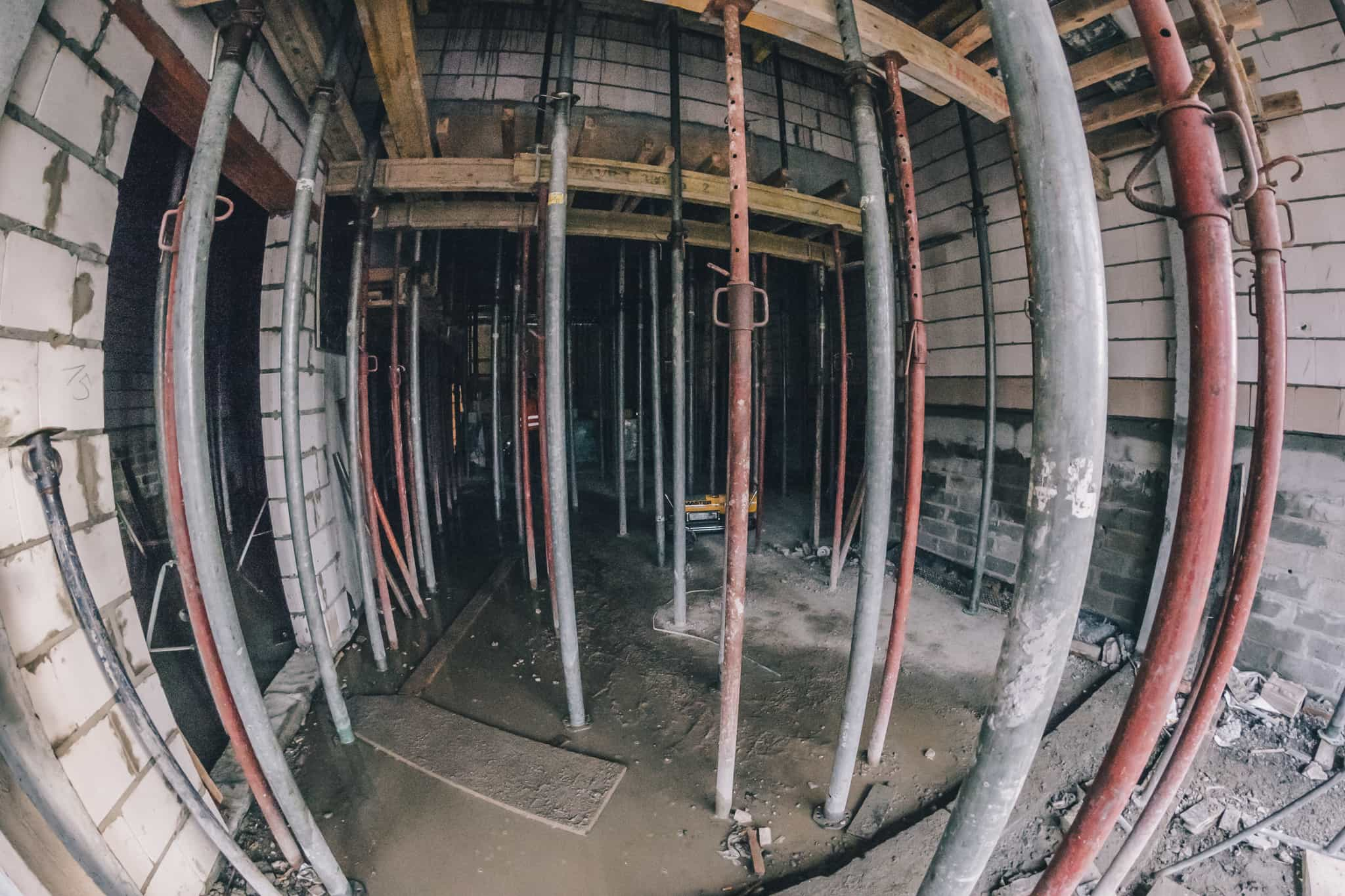 Budowa Nowej Przestrzeni Teatru Żeromskiego WDK-15