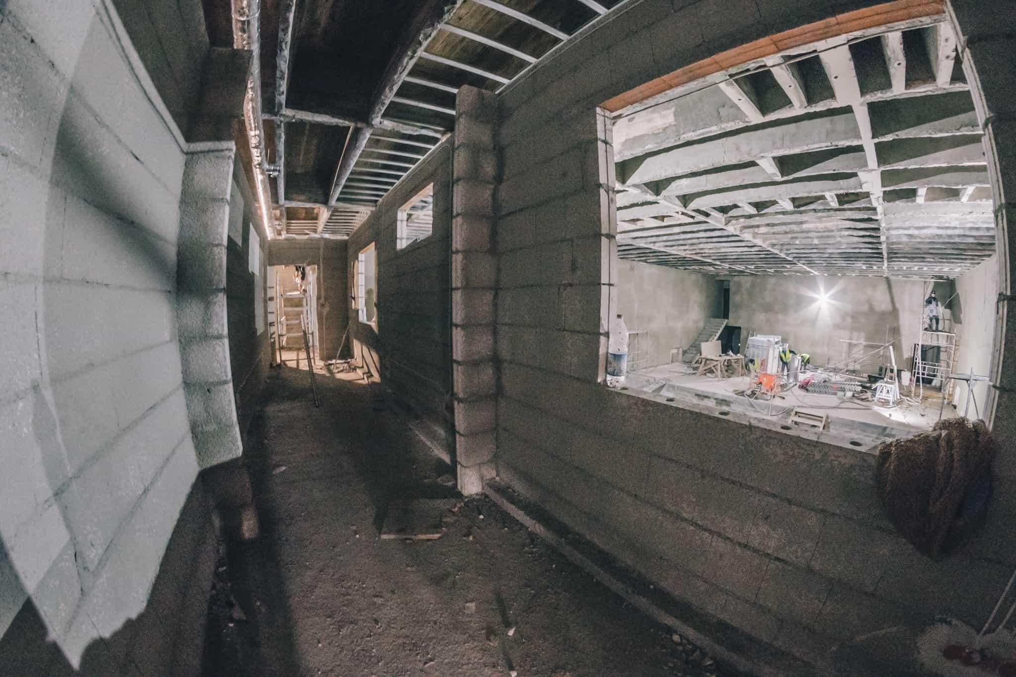 Budowa Nowej Przestrzeni Teatru Żeromskiego WDK-2