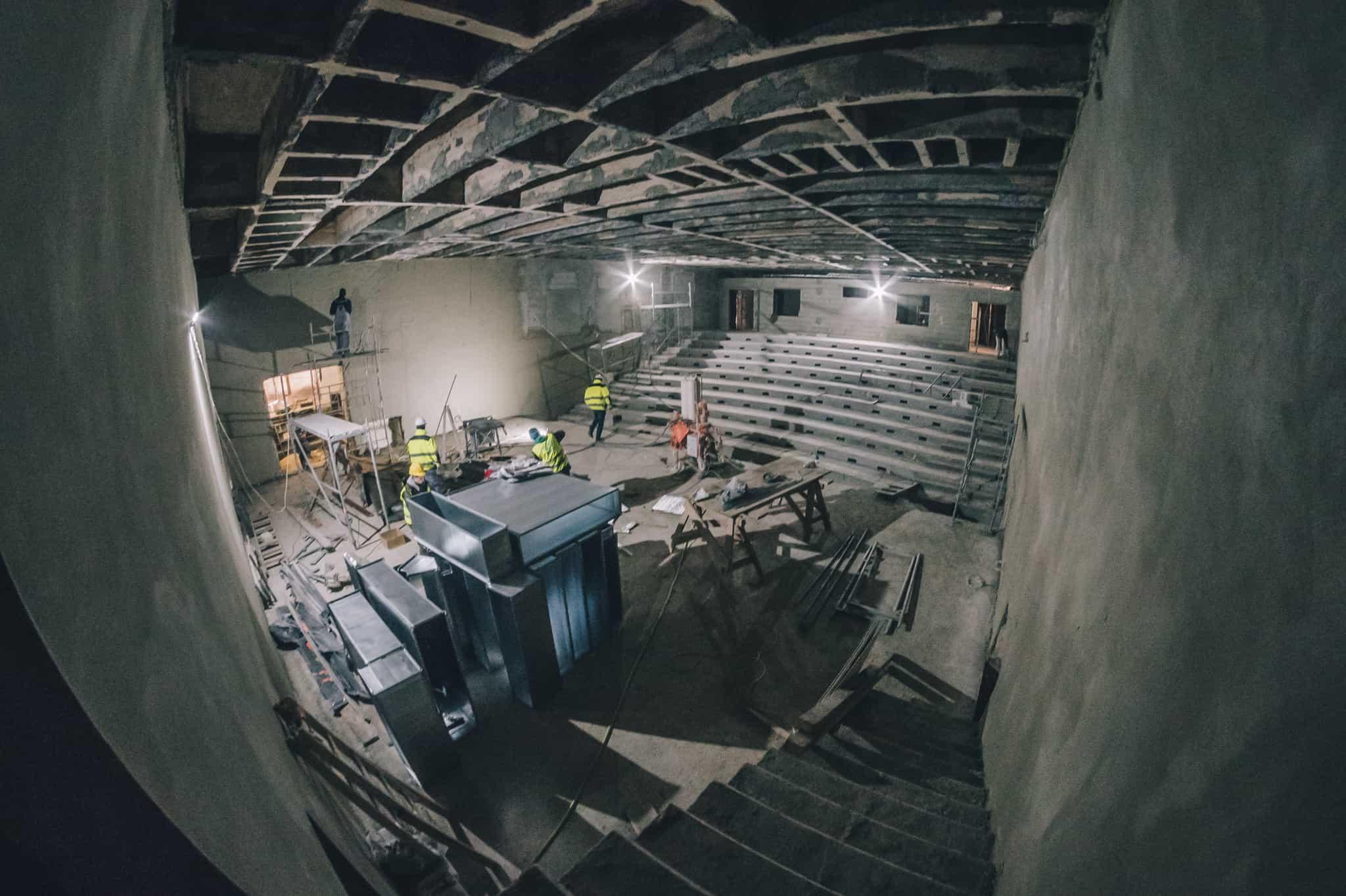 Budowa Nowej Przestrzeni Teatru Żeromskiego WDK-6