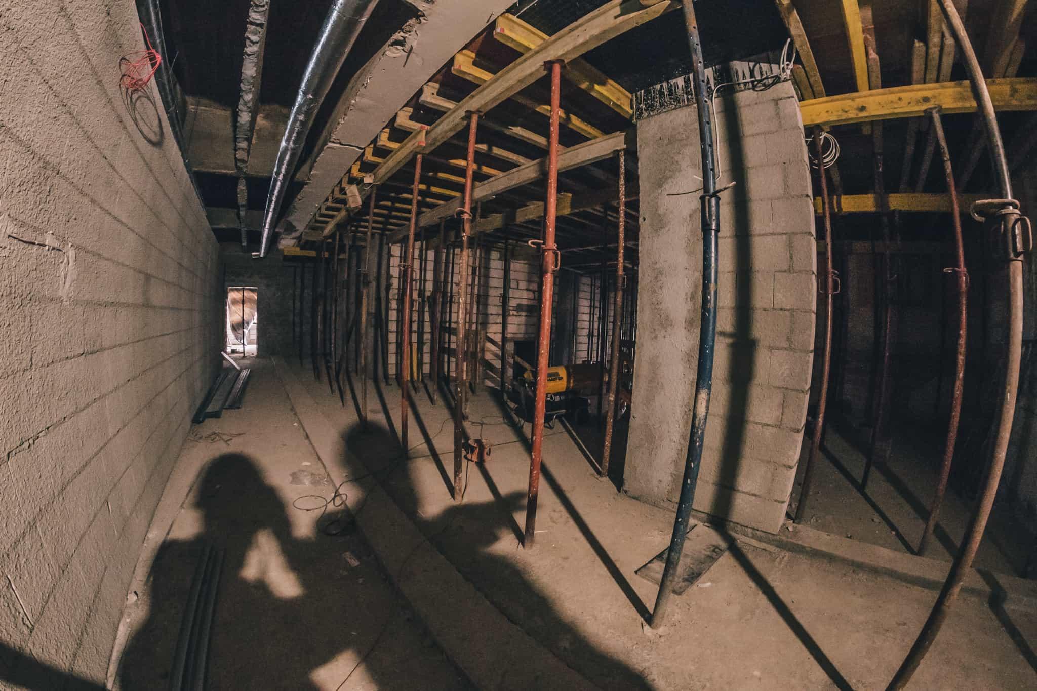 Budowa Nowej Przestrzeni Teatru Żeromskiego WDK-9
