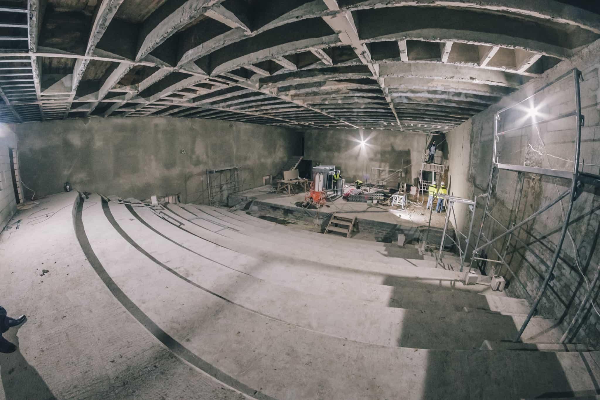 Budowa Nowej Przestrzeni Teatru Żeromskiego WDK