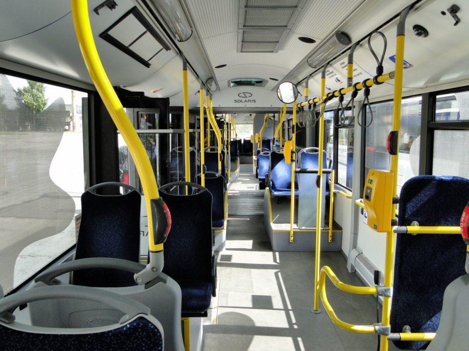 autobusy wnętrze solaris